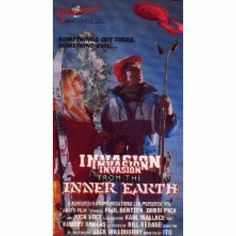 invasion from inner earth 1974 - I kind of liked this movie even though there wasn't a lot of action, the soundtrack was horrible and the ending was just...weird.
