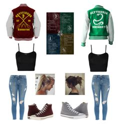 """Untitled #366"" by hummingbirdgrl ❤ liked on Polyvore featuring WearAll, Frame Denim and Converse"