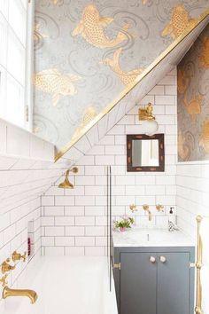 Amazing bathroom designing | Bathroom remodel | architecture | interior design | modern art | modern | beautiful | #metalwallart #interiordesign https://www.statements2000.com/