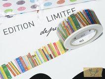 mt Washi Tape - Books, Books, Books 10m x 23mm