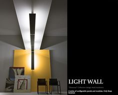 the light wall (see images below) is a series of configurable brass panels and modules available in varying sizes that can be used to create interesting experiences with shadows and light. perfect for art collectors and galleries, the light wall is just one of innumerable high tech lighting fixtures honed from an artisanal perspective.  http://eepurl.com/250-D