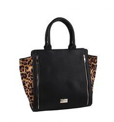 Kabelka by měla být kousek, který na vašem outfitu ihned zaujme. Tak se nebojte vyhrát i s kabelkou s leopardím vzorem. S její správnou kombinací budete chic a nepřehlédnutelná. #stylewithkbas http://goo.gl/CNhK8W KBAS. Designérská kabelka za výbornou cenu.