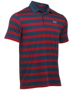 Under Armour Men s Groove Striped Golf Polo Men - Polos - Macy s abb273829