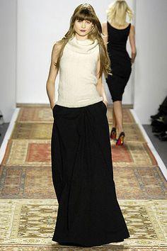 Chaiken Fall 2007 Ready-to-Wear Fashion Show - Behati Prinsloo