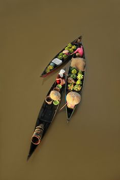 """floating market by Ayie  Permata Sari, via 500px 