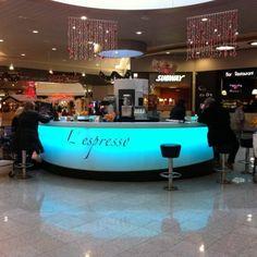 Kiosque à Café dans une galerie marchande - Aranda-Mas