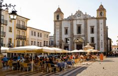 Evora, Alentejo, Portugal  A golden-stoned university town complete with Roman temple, Moorish alleys and medieval walls.