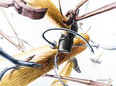 제3미술학원 기조디자인 연구작 소재는 망치, 나무, 못, 쇠 집게 입니다. 각각의 소재의 재질(쇠의 녹이 슨 재질감) 나무의 시각적 효과