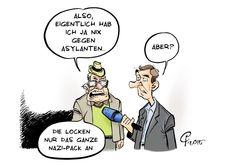 Karikaturen: Vorsicht, bissig!