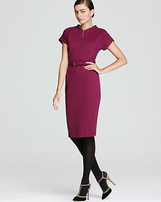 DVF Maizah Dress - chic dress on sale in a pretty & office-friendly color