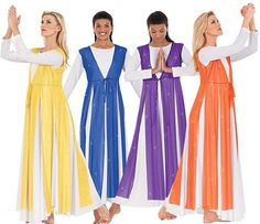 multiple colors garment of praise. For a free praise dance workbook on PRAYER AND CHOREOGRAPHY, email Angie at awilliam4000@gmail.com.
