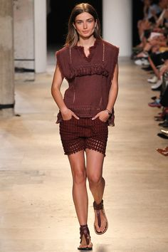 Isabel Marant Pace Broderie-anglaise Shorts
