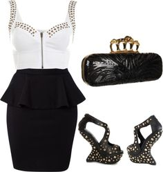 Night Out, created by mcyoung90 on Polyvore