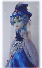 monster high repaint doll ooak medieval queen frankie