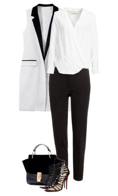 """Untitled #2686"" by carmelaromio ❤ liked on Polyvore featuring Etro, Christian Louboutin and By Malene Birger"