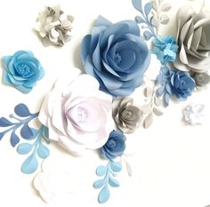 Paper Flower Backdrop Paper Flowers Paper Flower by MioGallery