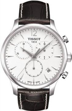 Relógio Tissot Men's T063.617.16.037.00 Silver Dial Tradition Watch #Relógio #Tissot