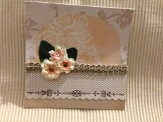 Basic grey Card kit - added silk flowers 2014