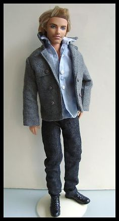 Very Nice Barbie Ken Doll Clothes Complete w Jacket Shirt Jeans Shoes New | eBay