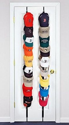 "Hat Rack Target Fair Diy ""over The Door"" Hat Rack* I Recently Pinned Something Similar Inspiration"