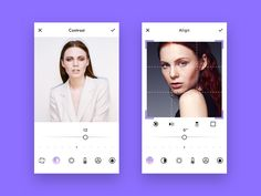 "via Muzli. ""Photo Editor Design Inspiration"" is published by Muzli in Muzli - Design Inspiration. Image Editor App, Iphone Photo Editor App, Ui Design Mobile, App Design, Mobile Ui, Design System, Ui Design Inspiration, Daily Inspiration, Screen Design"