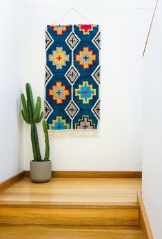 Add an eclectic feature to your living spaces with our woven wall hangings! Measuring x these large textural hangings will most definitely add personality and warmth to your home. Fabric Wall Decor, Wall Decor Design, Woven Wall Hanging, Moroccan Style, Affordable Art, Twine, Weaving, Kids Rugs, Colours