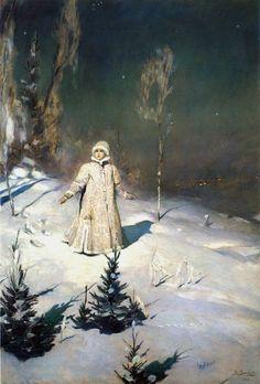 """Виктор Васнецов. """"Снегурочка"""", 1899"""