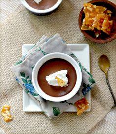 Maple Pots De Creme With Almond Praline Recipes — Dishmaps