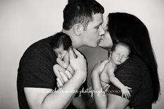 newborn twin photography  www.michellemiller-photography.com Little Rock, AR  www.Facebook.com/MichelleMillerPhotography