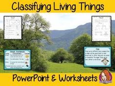 Classifying Living Things PowerPoint and Worksheets Science Worksheets, Science Resources, Science Lessons, Science Activities, Printable Worksheets, Teacher Resources, Tes Resources, Elementary Science Classroom, Primary Science