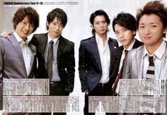 Arashi - thank you for the happy pop songs