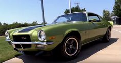 1970 Chevrolet Camaro Z28 Restored to Original