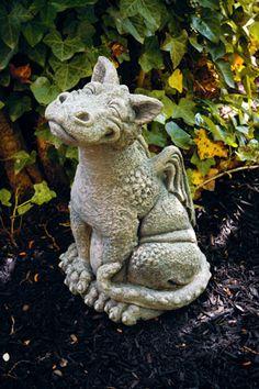 Dragon Statue Concrete Dragons Medieval Monster Large 400 x 300