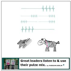 As a great leader you need to listen to your pulze in each situation. Situations often diverse by and depend on the team member you are TRYING to motivate and support. Each team member has their own pulze beat. As the leading person you need to understand the diversity of pulzes around you. Deutsch more www.instagram.com/p/BHkKf7EDp3g/ www.pulzing.com #leader #leaders #leadership #management