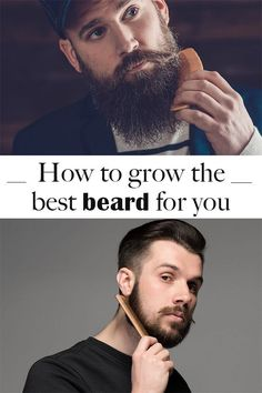 Grow a beard fast and easy.