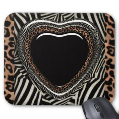 ==>Discount          Leopard and Zebra Print Heart Mousepad           Leopard and Zebra Print Heart Mousepad you will get best price offer lowest prices or diccount couponeShopping          Leopard and Zebra Print Heart Mousepad please follow the link to see fully reviews...Cleck Hot Deals >>> http://www.zazzle.com/leopard_and_zebra_print_heart_mousepad-144530954328190955?rf=238627982471231924&zbar=1&tc=terrest