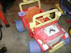Dora Power Wheels Jeep