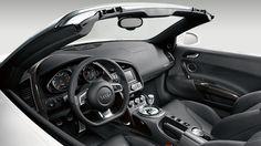 Audi R8 Spyder interior ♥