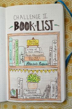 Ideas on how to Bullet Journal in the Challenge levels.