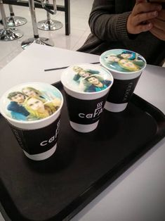 """21 Coffee Shops That'll Make You Say """"Why Doesn't Every Coffee Shop Have That?"""" Iced Coffee, Coffee Shops, Tea Timer, Lucky Charms Marshmallows, Frozen Coffee, Vegan Cafe, Uses For Coffee Grounds, Coffee Cubes, Having A Bad Day"""