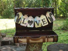 Shabby Chic Wedding Card Box  Wedding WIshes by IttyBittyWedding, $68.00