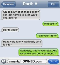 I know what I'm doing with my husbands phone. . .