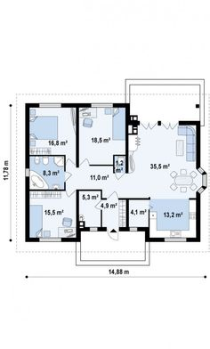 Tiny House, House Plans, Diy And Crafts, Sweet Home, Floor Plans, Construction, Cottage, Flooring, How To Plan