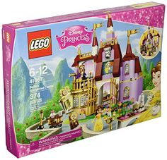 I have always been a Lego fan, and it amazes me how many incredible Lego kits there are out there today! The LEGO Disney Princess Belle's Enchanted Castle Build Lego Disney Princess, Princesses Disney Belle, Lego Princesse Disney, Princess Ages, Princess Belle, Enchanted Castle, Enchanted Rose, Lego Gifts, Disney Beauty And The Beast