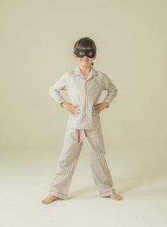 Pyjama bottoms with a comfortable elastic waist and cotton twill. Cotton 100%. #pyjama #pijama #boy #sleepwear #kidsfashion #pyjama #modeenfant #modainfantil