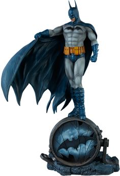Batman Blue Version Statue by yamato usa click to view or purchase from sideshow collectibles dc comics