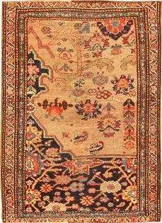 Antique Bidjar Persian Rug #42815  http://nazmiyalantiquerugs.com/antique-rugs/bidjar/