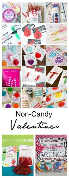 Valentine's Day Ideas| I just love celebrating all these fun holidays but, don't love all of the sweets and treats that come along. Are you feeling the same way? So, today I gathered some ideas around the web for Non-Candy Classroom Valentines.