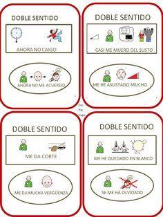 Continuamos con nuestro Trivial de habilidades sociales. Hoy compartimos la categoría 4. DOBLESENTIDO, ¿ENTENDIDO?, con la que trabaja... Spanish Inspirational Quotes, Aspergers, My Tea, Conte, Learning Spanish, Psychology, Blog, Teaching, Carrera