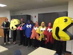 Happy Halloween from PacMan and Ms. PacMan (Middle School cohort)